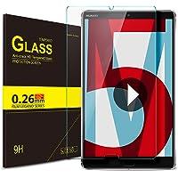 IVSO Huawei MediaPad M5 8.4 Pellicola Protettiva, Schermo in Vetro Temperato per Huawei MediaPad M5 8.4 2018 Tablet (Tempered Glass - 1 Pack)