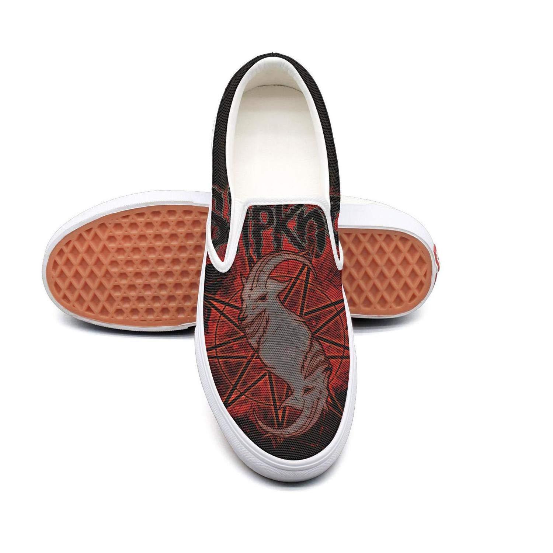 Slipknot Logo1 5.5 B(M) US OUCUI Young Women Slipknotsenven Loafer for Womens