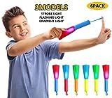 MYRIANN 6 Pack LED Foam Finger Rockets Slingshot