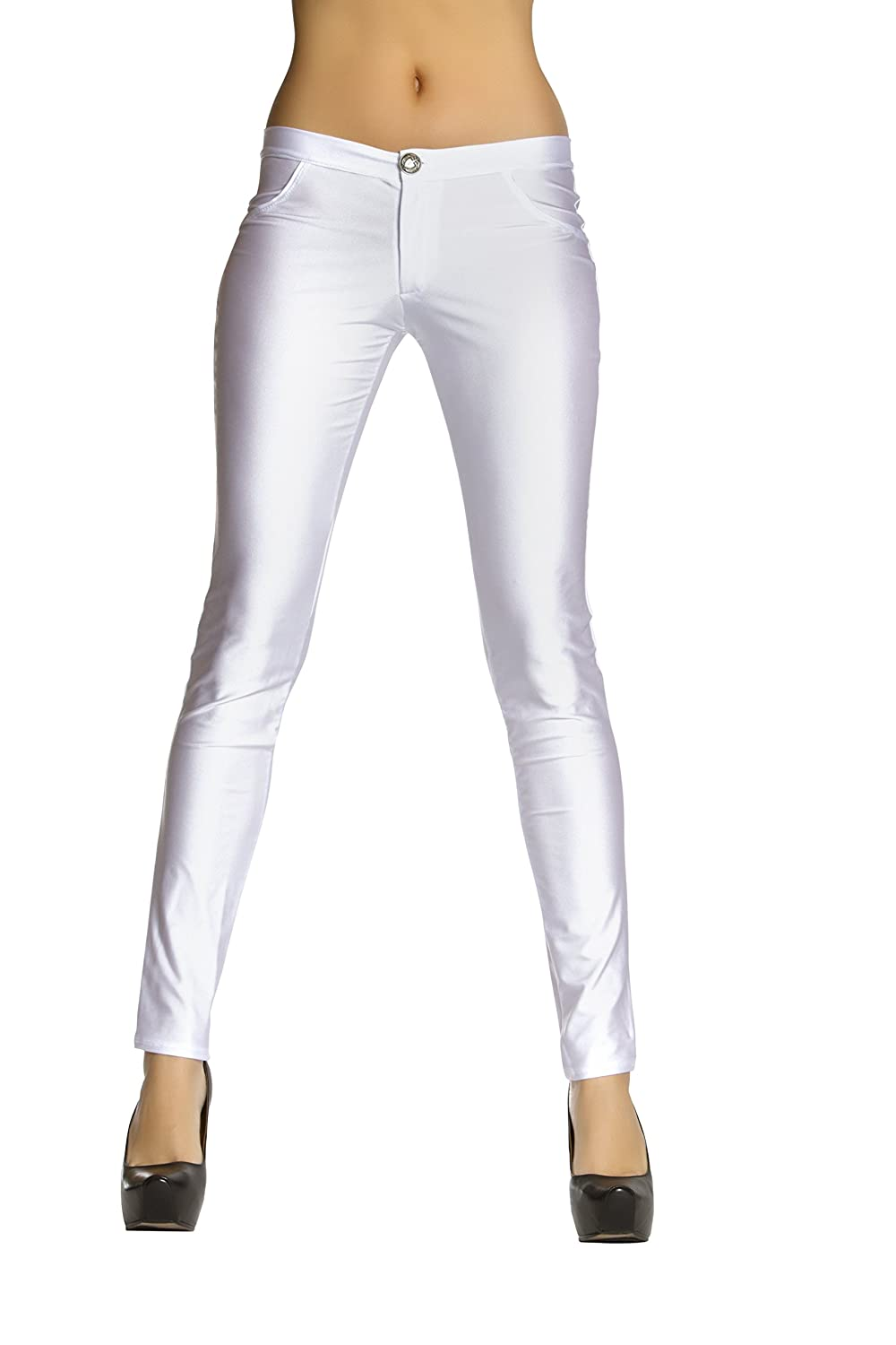 Roma Costume Button Front pants with Pocket Detail 3174