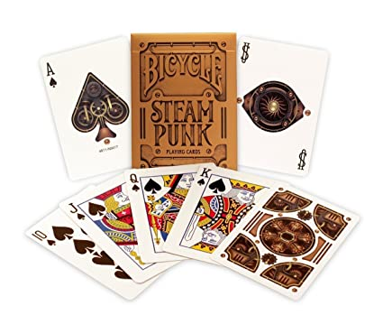 US Playing Card Co. 1024463 Bicycle Steampunk - Juego de ...