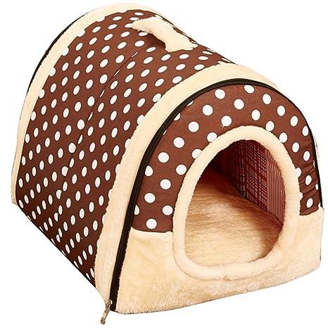 Happy FD mejor mascota suministros Home Sweet Home Sofá antideslizante Perros y Gatos Igloo – Refugio