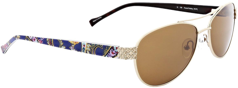 89c7c1857d Vera Bradley Women s Marlene Polarized Aviator Sunglasses