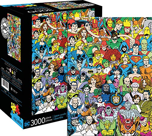 Aquarius DC Comics Line Up Jigsaw Puzzle (3000 Piece)