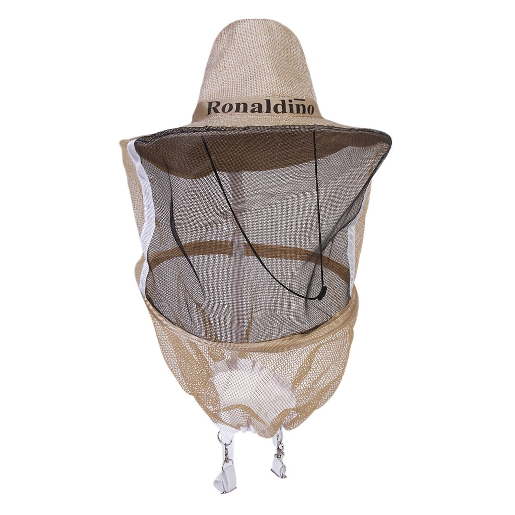 Mosquito Bug Bee Insect Repellent Mesh Net Protective Cowboy Hat Head Face Protector Generic
