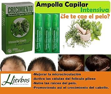 Amazon.com: CRE-C MAX Ampollas (Shampoo Cre-c) Ampollas ...
