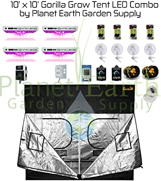 Gorilla Grow Tent Kit 1000w KIND LED XL1000 Package #2  sc 1 st  Amazon.com & Amazon.com : Gorilla Grow Tent Kit 1000w KIND LED XL1000 Package ...
