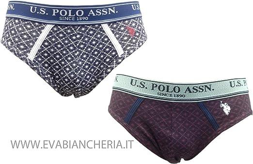 U.S.POLO ASSN. Confezione BI-Pack Slip uomo XL: Amazon.es: Ropa y accesorios