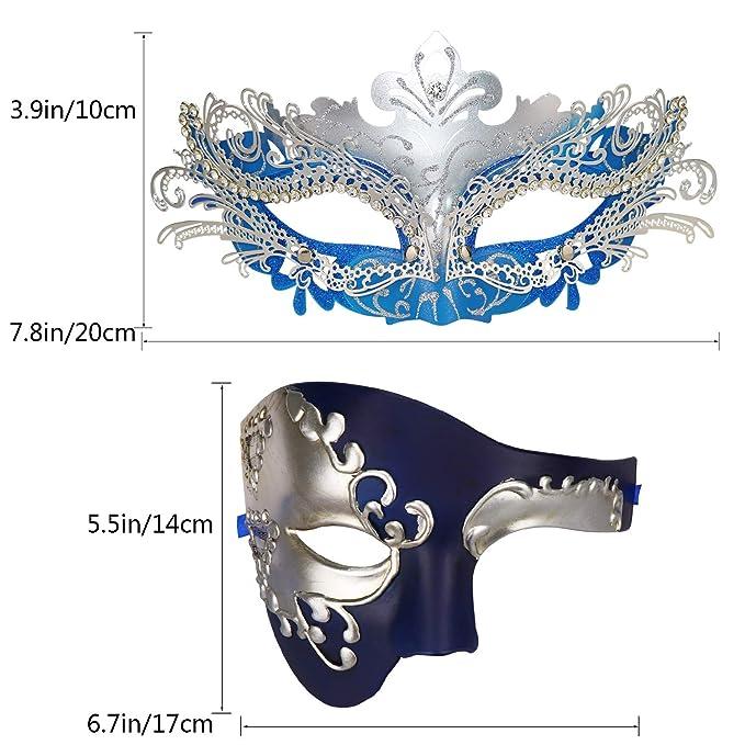 Parejas máscara de la Mascarada Máscara de Carnaval ...