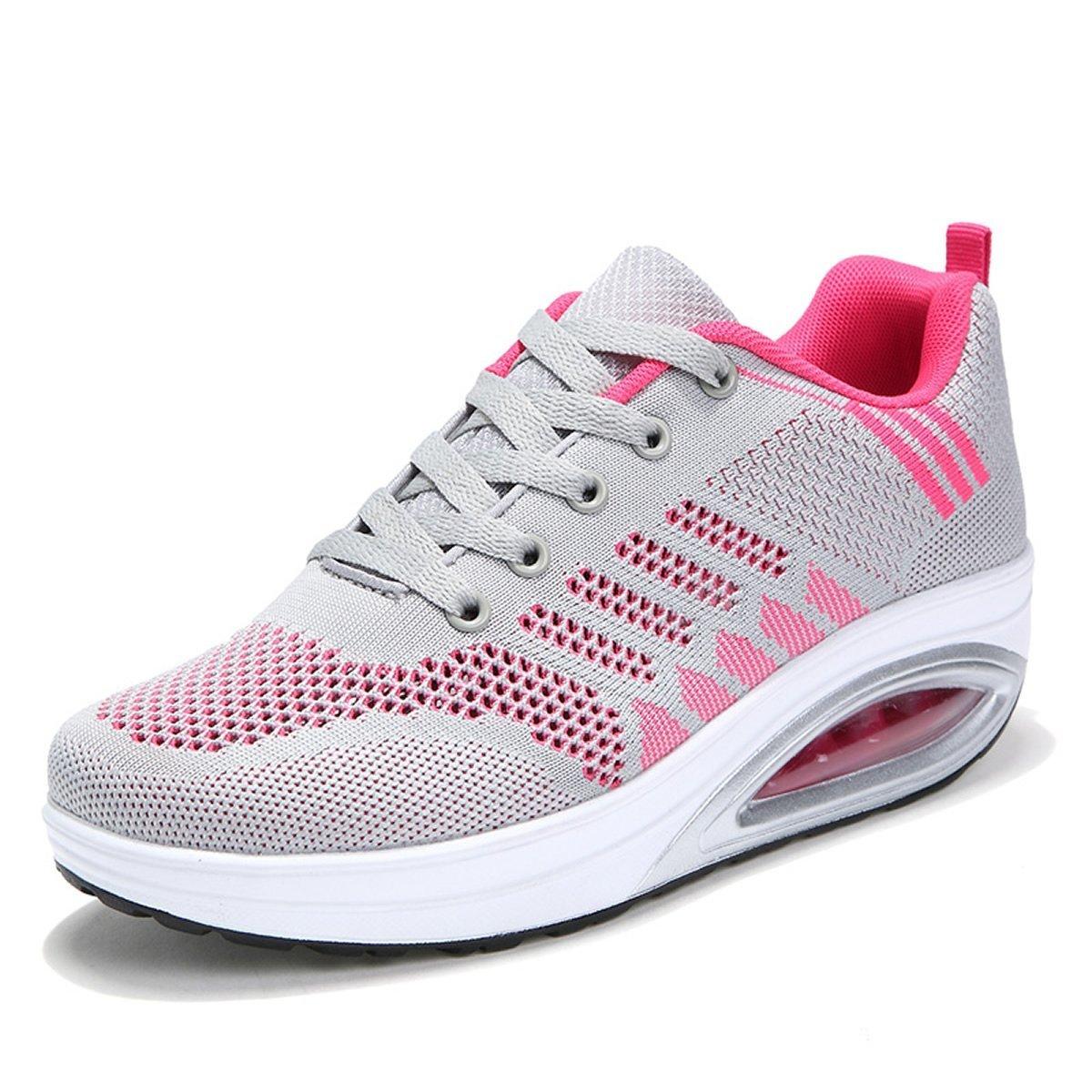 XMeden - Zapatillas de running para hombre 35.5|gris