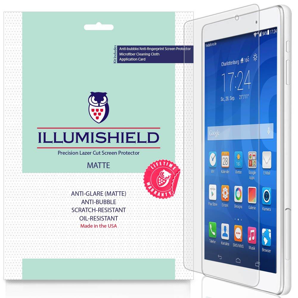 Huawei MediaPad t2 10.0 Proスクリーンプロテクター(10.1 ) [ 2 - Pack ]、iLLumiShieldアンチグレアスクリーンプロテクターfor Huawei MediaPad t2 10.0 Pro HDシールドwith気泡防止&指紋防止マットフィルム   B01M0AWEPW