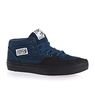 0e44021c110 Vans Half Cab Pro Shoes UK 12 Dark Denim Black  Amazon.co.uk  Shoes   Bags