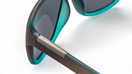 Moderne Unisex Sonnenbrille im Wayfarer Stil für Damen & Herren F2500387 TX9YH