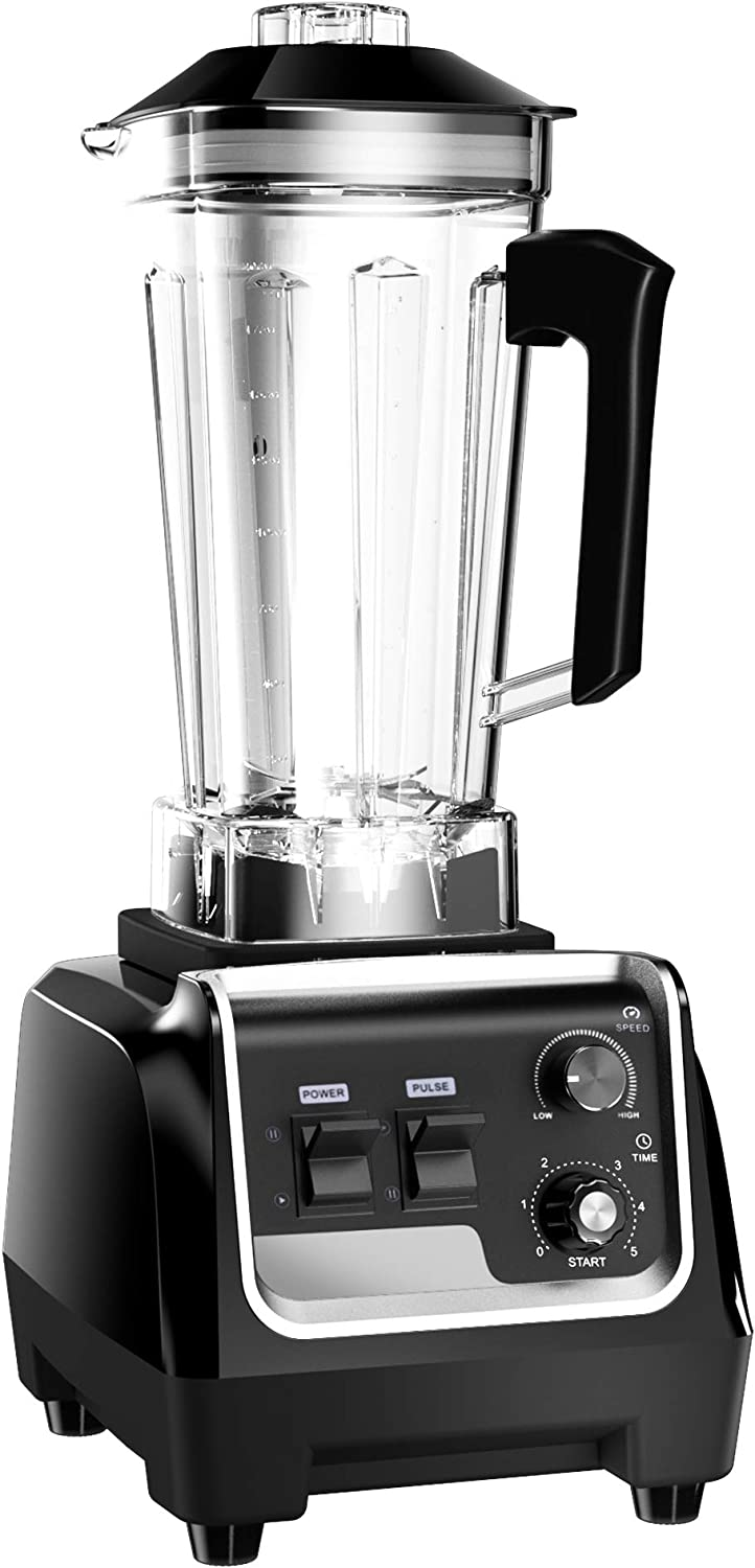 CasaCosa 2200W Professional Blender for Kitchen, Countertop Food Blender Processor Smoothie Maker with Variable Speed, 2L Tritan Container and 30000 RPM for Home and Commercial