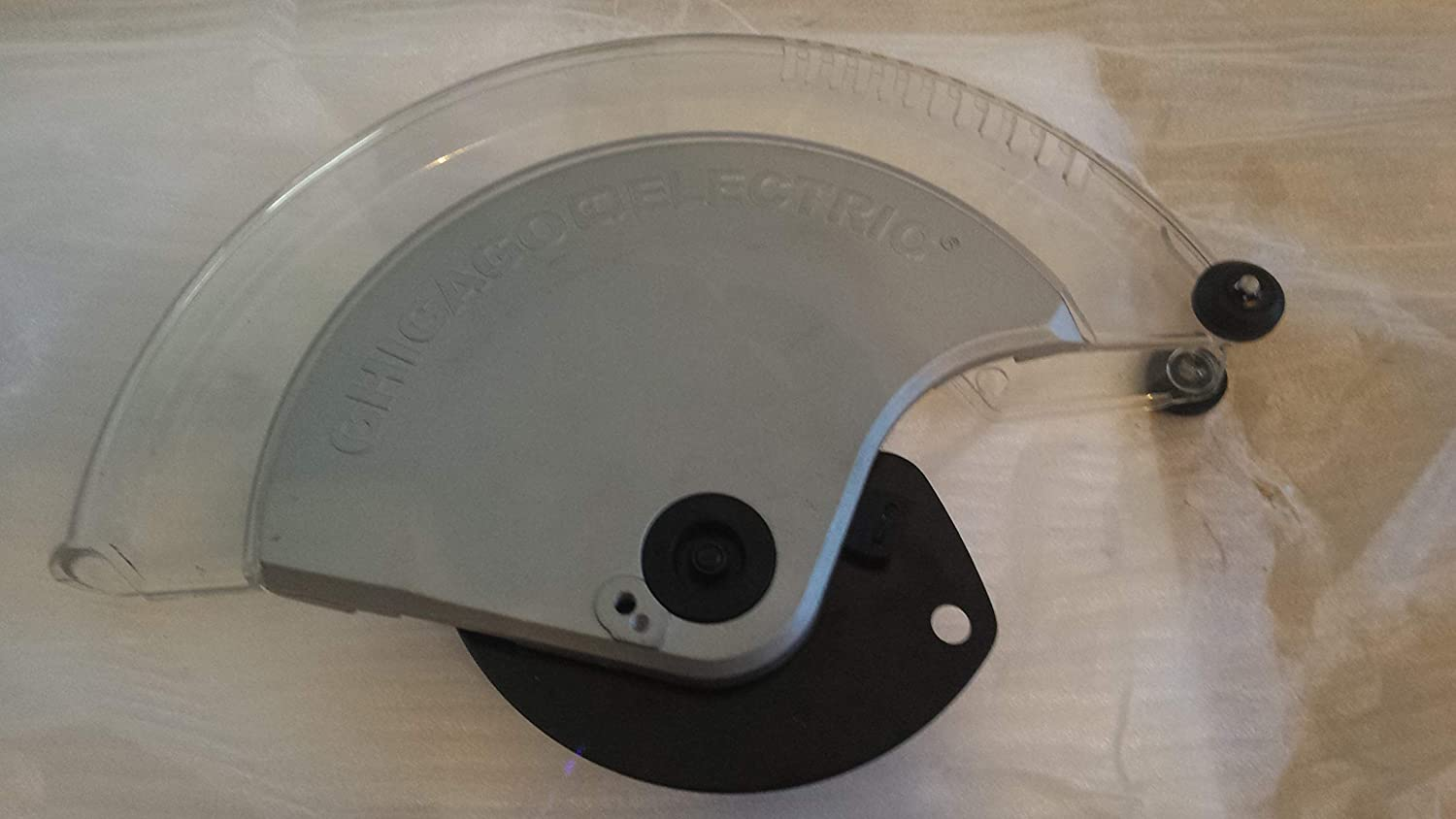 """Chicago Electric Harbor Freight 12"""" Miter Saw Lower Guard FITS ONLY Models 61969 and 69684"""