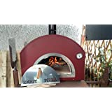 Forno a legna per pizza pizza party 70x70 bronzo amazon for Forno per pizza portatile