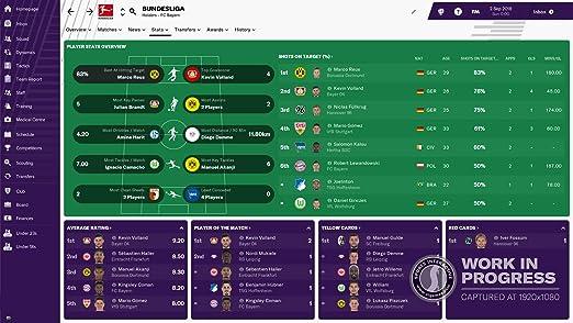 Football Manager 2019 PC CD [Importación inglesa]: Amazon.es: Videojuegos