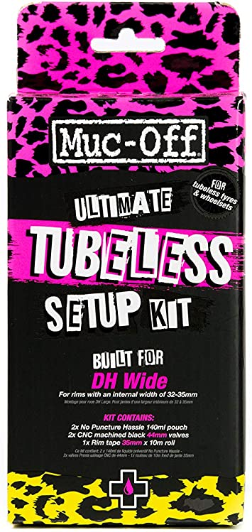 DH //Plus Muc-Off Ultimate Tubeless Kit