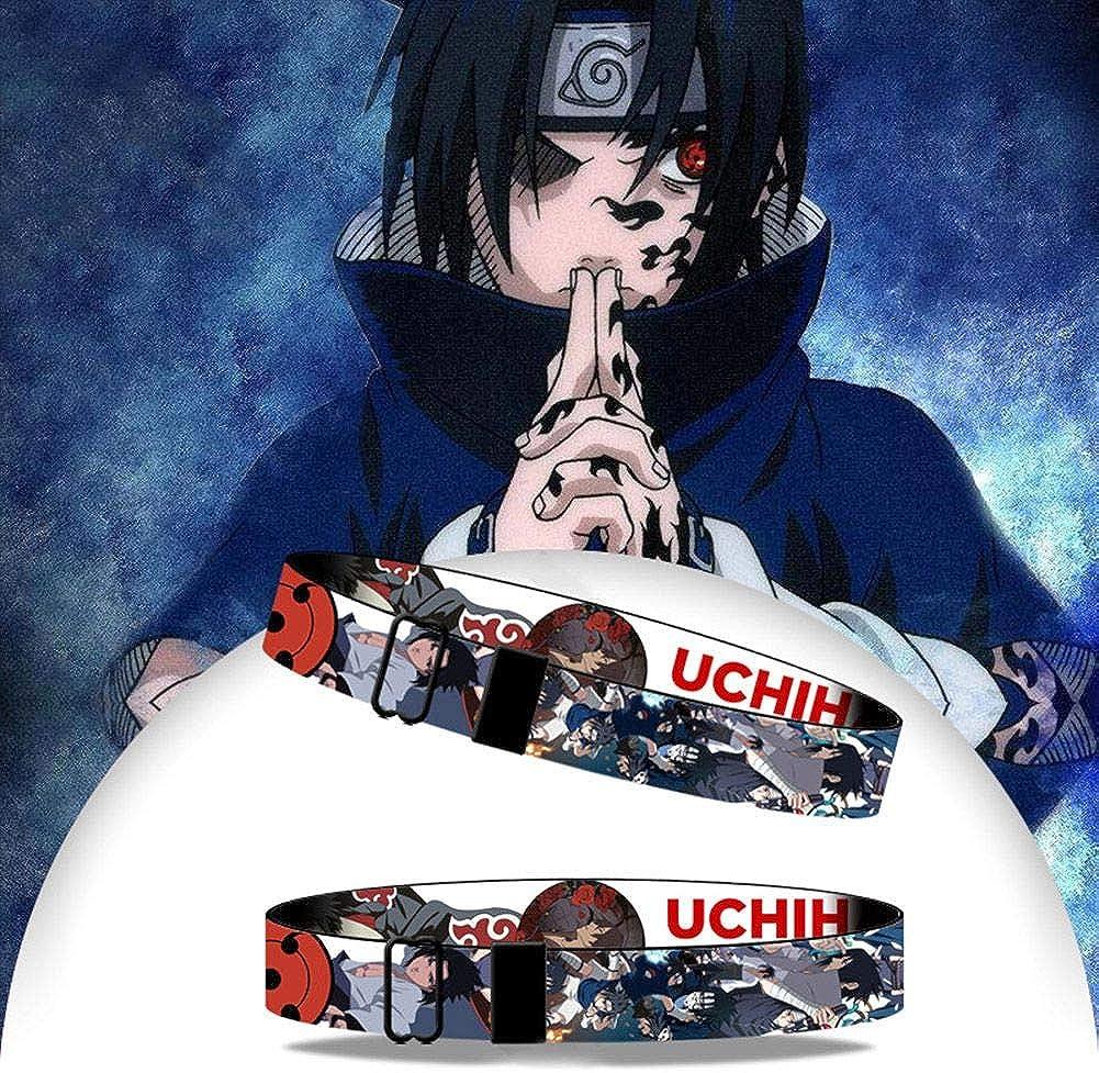 Teenager Elibeauty Naruto Armband mit verstellbarer Schnalle f/ür Kinder Erwachsene