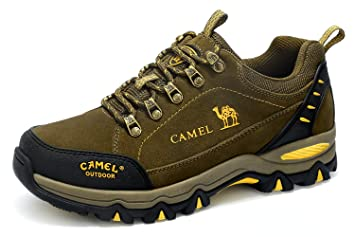 pretty nice a2381 a9f63 CAMEL Trekkingschuhe Herren Wanderschuhe Wasserdichte Wanderhalbschuhe  Dämpfung Anti-Slip Für Outdoor Climping Trekking