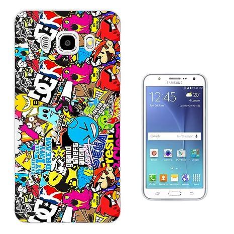 coque iphone 7 stickerbomb