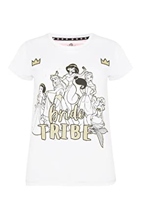ca997740 Primark Ladies Womens Girls Disney Bride Tribe T Shirt Hen Party Bride to  BE Wedding UK S-XL Sold by PENTA06: Amazon.co.uk: Clothing
