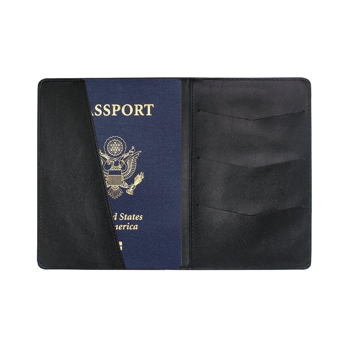 Porte-Passeport Vintage Personnalisable en Cuir pour Femme et Homme