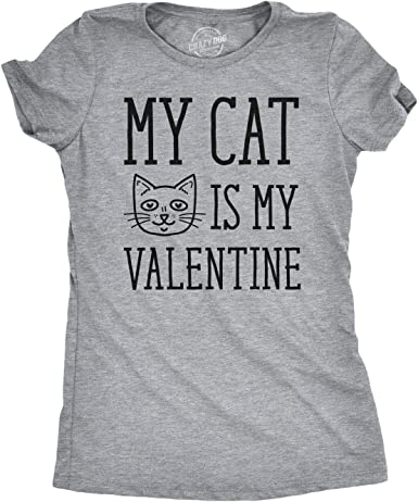 Crazy Cat Lady Funny Kitty T Shirt Womens Black Graphic T Shirt Small to 3XL