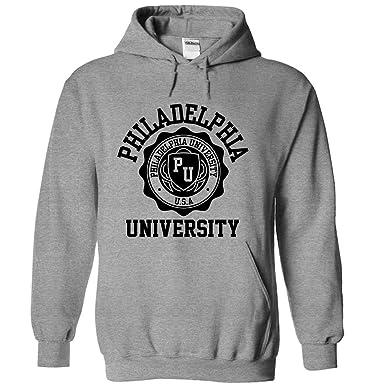 sale retailer c783b 769fc Philadelphia University Hoodie Grey/Black - Small: Amazon.co ...