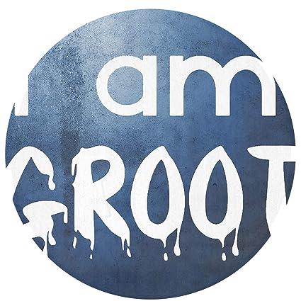 Antislip Mat Groot.Amazon Com I Am Groot Round Doormat 60cm Diameter Anti