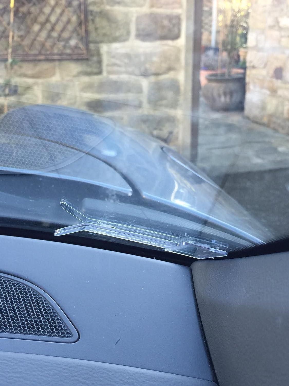 Tikettak van and caravan windscreen permit Car ticket and note holder Avoid parking fines 5