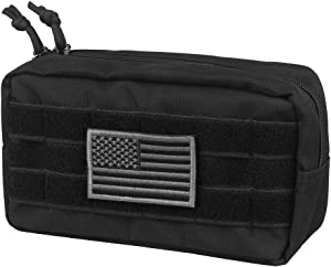 AMYIPO MOLLE Pouch Multi-Purpose Compact Tactical Waist Bags Utility Pouch