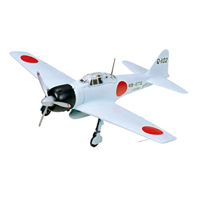 Tamiya Models Mitsubishi A6M3 Zero Fighter Model Kit: Toys & Games