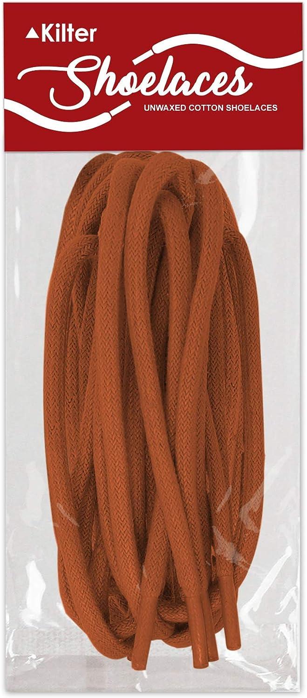 /ø 4 mm Chaussures Habill/ées et Bottes Kilter Lacets Ronds 100/% Coton de Haute Qualit/é pour Baskets