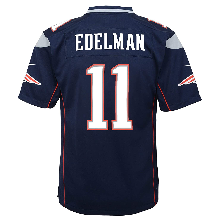 new concept 5570e 56eb9 Amazon.com : Nike Julian Edelman New England Patriots Youth ...