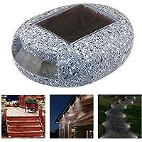 Eleganantimpresionante lámpara de Resina con energía Solar para Exteriores, Impermeable, para jardín, Exteriores, Festival, Patio, Patio, jardín, Patio, decoración