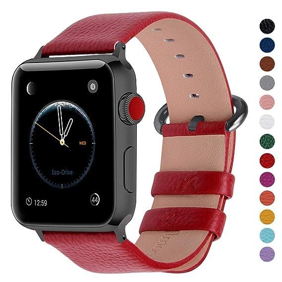 5f01801151b Amazon.com  Fullmosa Compatible Apple Watch Band 44mm 42mm 40mm 38mm ...
