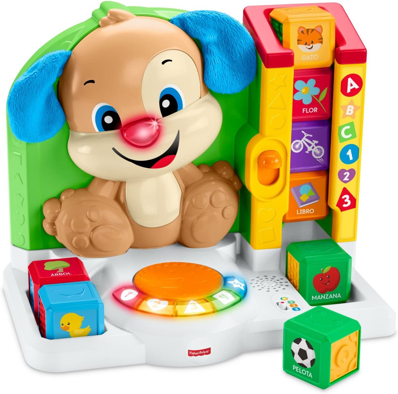 Fisher-Price- Perrito Primeras Palabras (Mattel FJC21): Amazon.es: Juguetes y juegos
