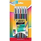 BIC Cristal Xtra Precise Ballpoint Pen 15ct - Multicolor