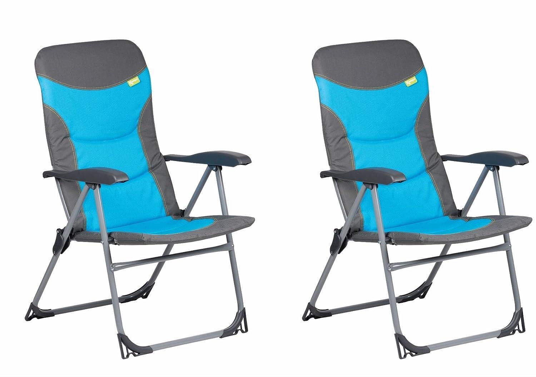 Kampa Skipper Sessel blau x 2