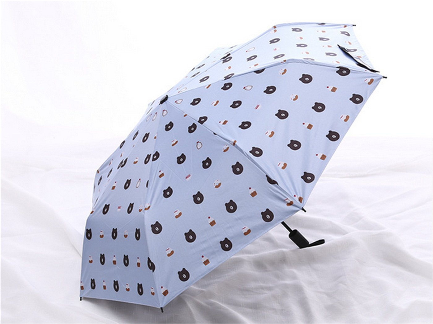 GKRY Fashion Art Umbrella/Windproof Travel Umbrellas/Folding Umbrella/for Business and Travels/SPF 352+ SUN RAIN Umbrella/RAIN Umbrella The ultra fine umbrella blue sky. by GKRY Home (Image #1)