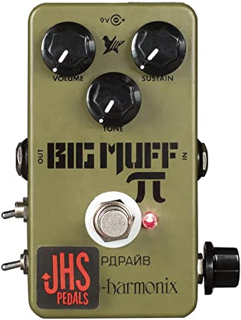 JHS Pedals  EHX Green Russian Pi Moscow Mod