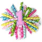 Mud Pie Baby-Girls Newborn First Birthday 3-In-1 Bow