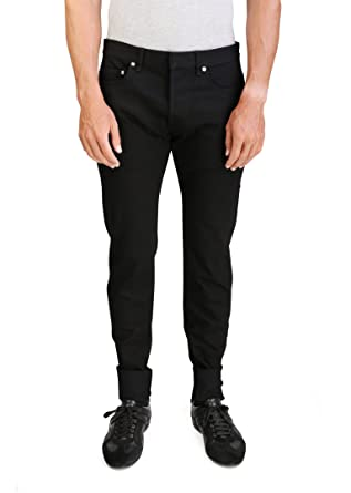 87c9bdcb Amazon | Dior Homme Men's Men's Zip and Cord Stretch Cotton Jeans ...