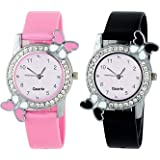 Jay Enterprise New Stylish Analogue Multicolor Dial Women's Combo Watch