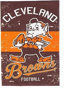 Team Sports America 14L3807VINT Cleveland Browns Vintage Linen
