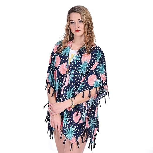 8268b1e653 Renxmo Women Beach Dress Bikini Swimwear Cover Up pink color at ...