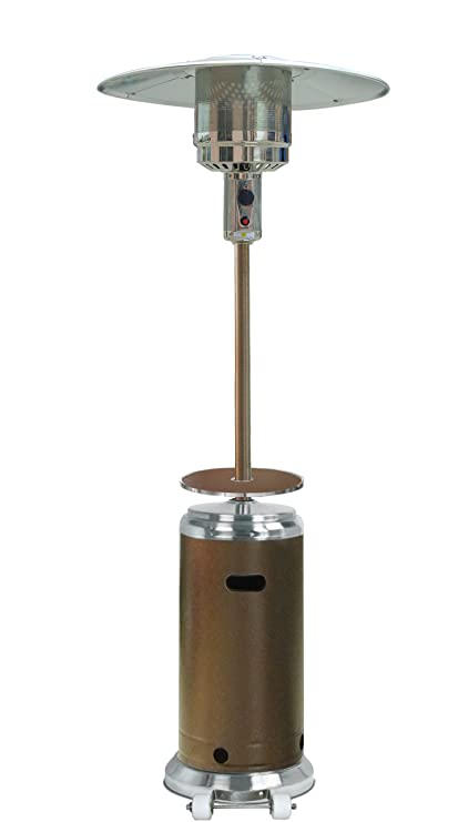 Amazon Com Hiland Hlds01 Sshgt Patio Heater 87 Hammered Bronze