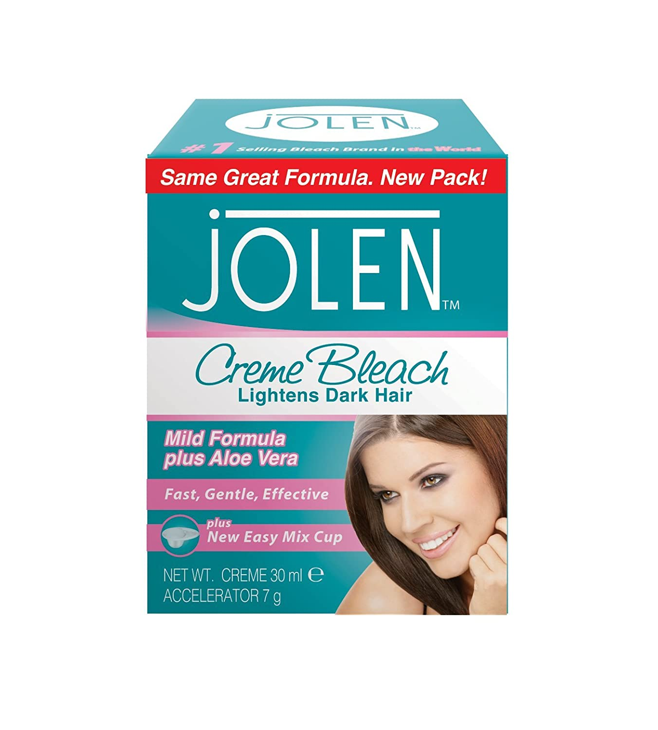 Jolen Mild 30 ml Facial Bleach Jolen Inc. JOL98273