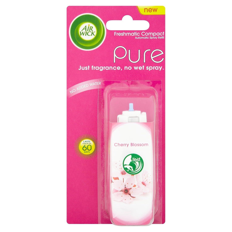 4 x Air Wick Freshmatic Compact Refill Pure Cherry Blossom, 24 ml (4 x REFILLS) Reckitt Benckiser